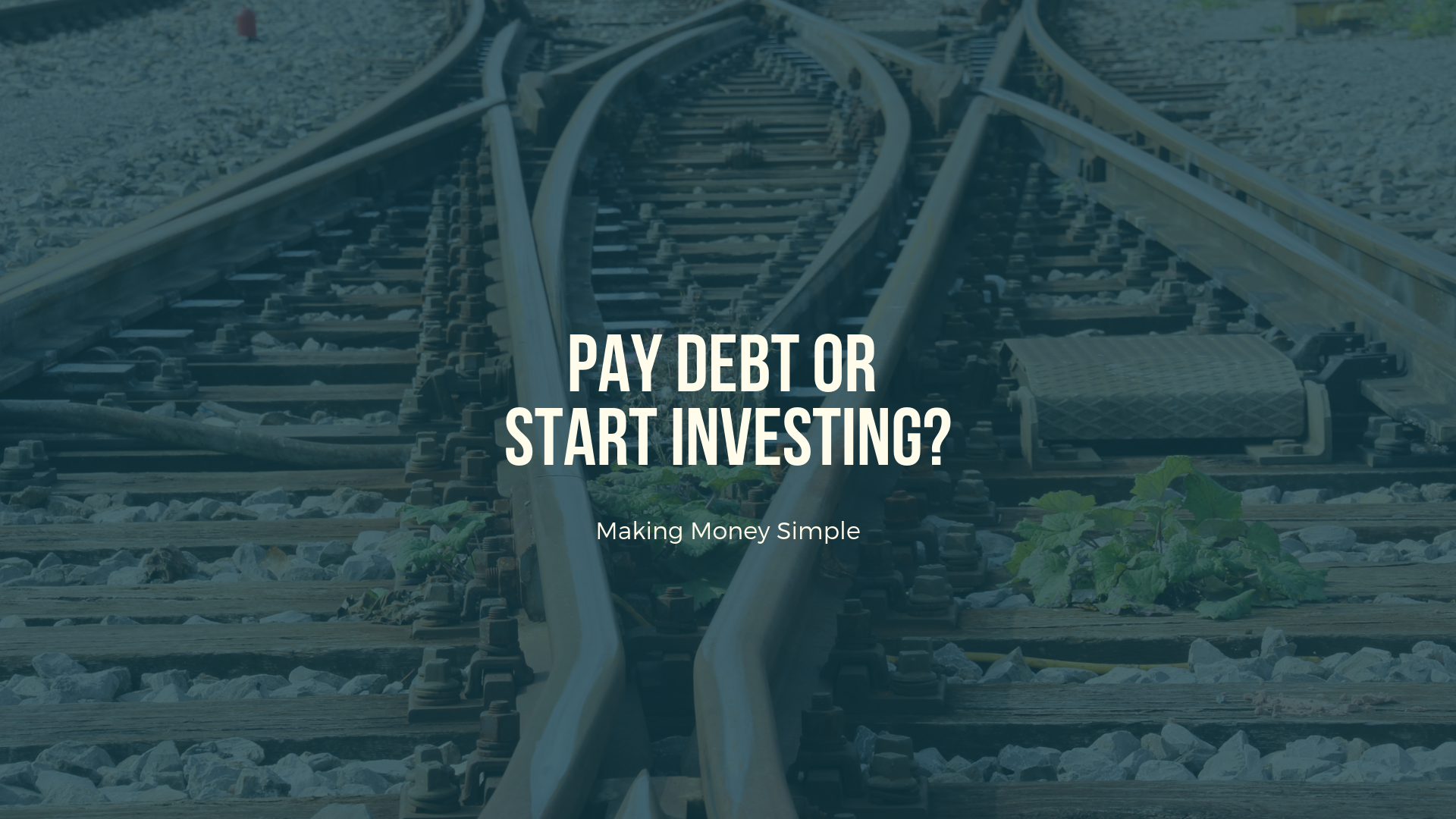 Pay Debt or Start Investing?